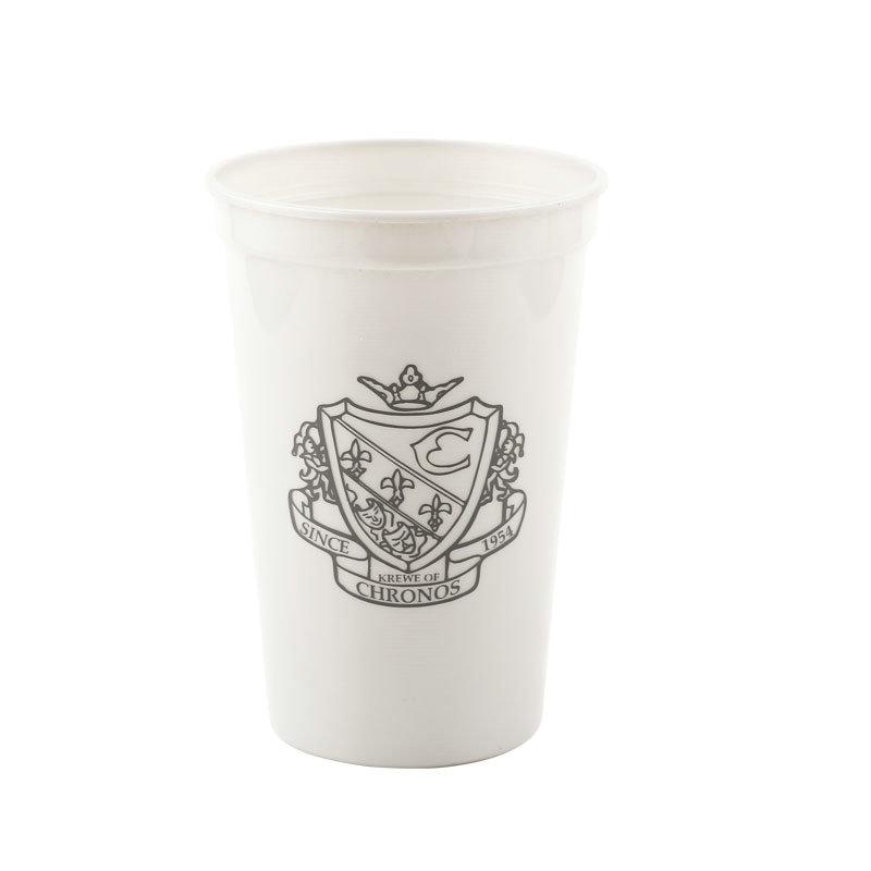 350毫升可重复使用印广告促销塑料杯