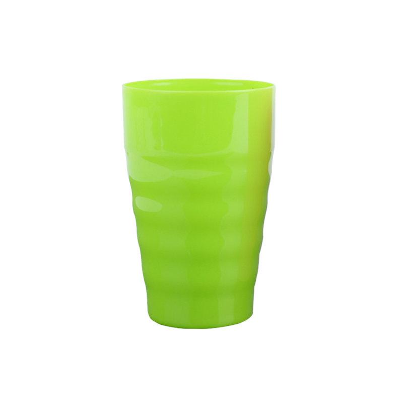 工厂批发300ml塑料多彩儿童果汁水杯
