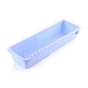 批发款长方形塑料办公桌抽屉收纳盒