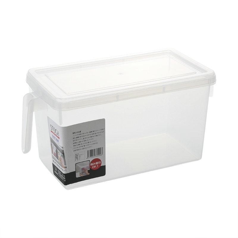 优质食品级透明款长方形抽屉式冰箱收纳盒