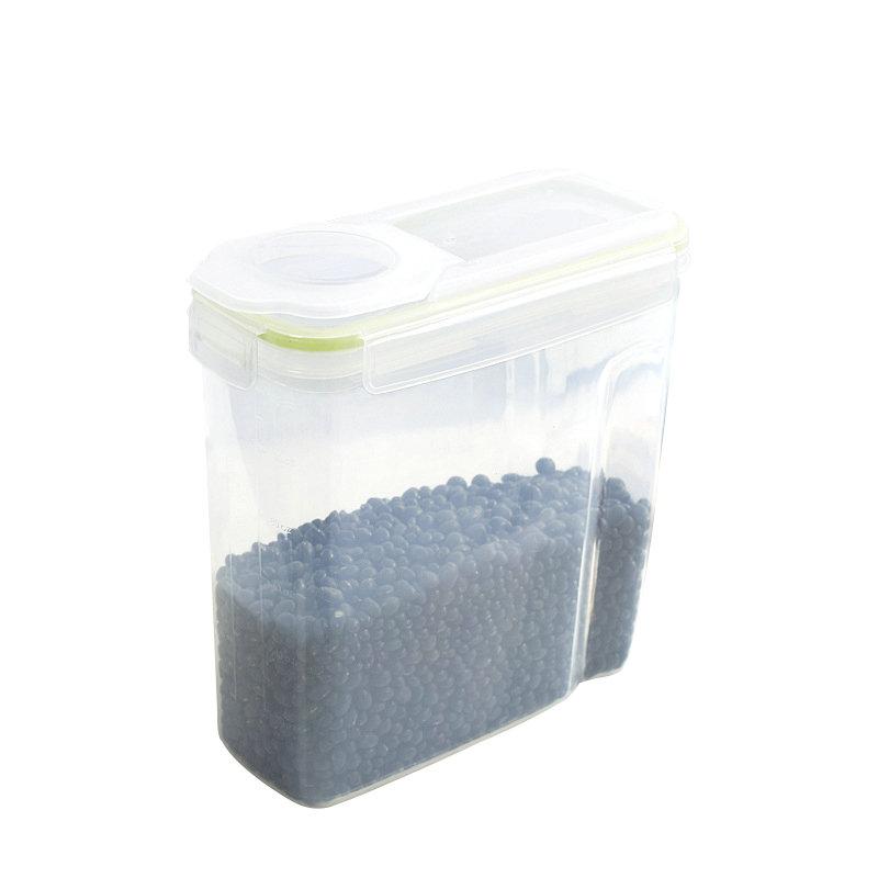 环保2.5升 4升狗粮罐密封塑料干货杂粮罐