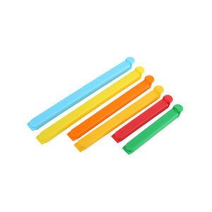 11厘米16厘米20厘米塑料食品袋封口夹套装可印logo广告促销夹子