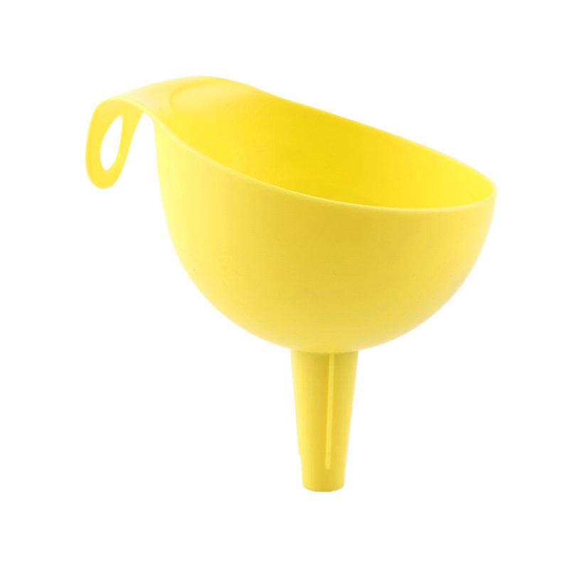 QM启明制造环保塑料双尺寸厨房用漏斗