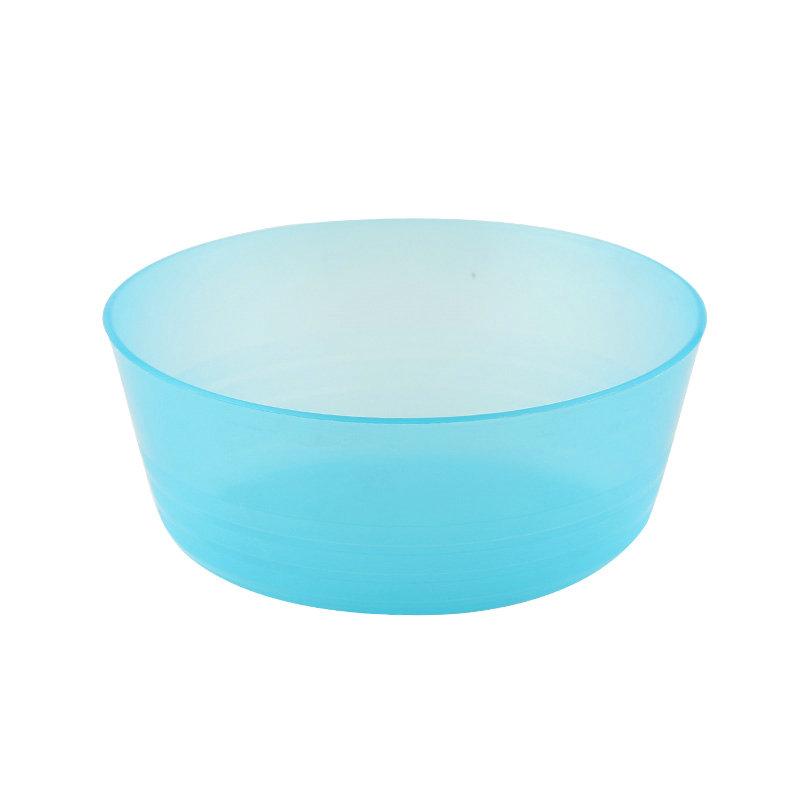 环保彩色野餐系列塑料冰激凌碗套装