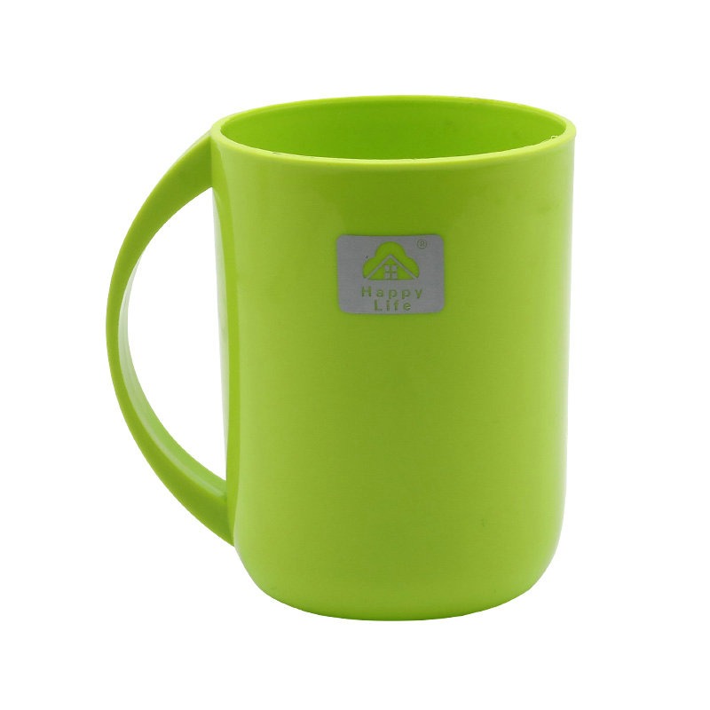 畅销广告杯定制logo加厚塑料礼品杯漱口杯刷牙杯