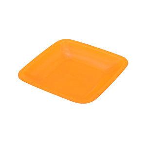 可定制LOGO款食品级塑料方形盘子