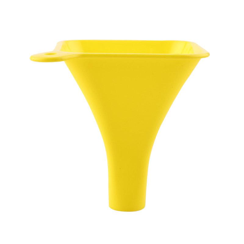 QM启明制造环保塑料11.5cm宽罐装方漏斗