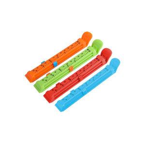 12厘米带日期塑料食品袋封口夹密封夹